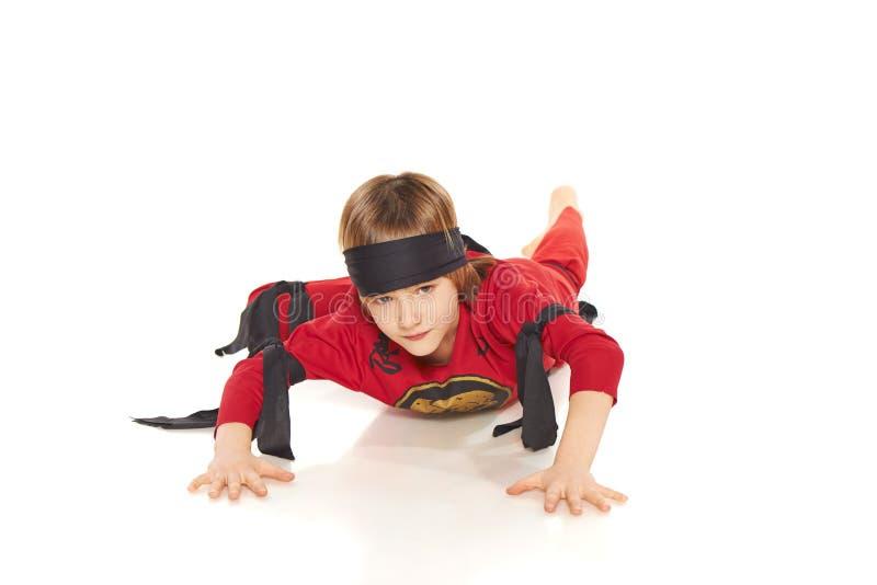 Unga Ninja royaltyfri foto