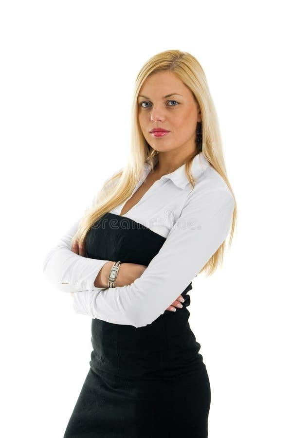 unga säkra kvinnor för affär royaltyfria bilder