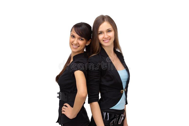 unga sexiga kvinnor för affär arkivbild