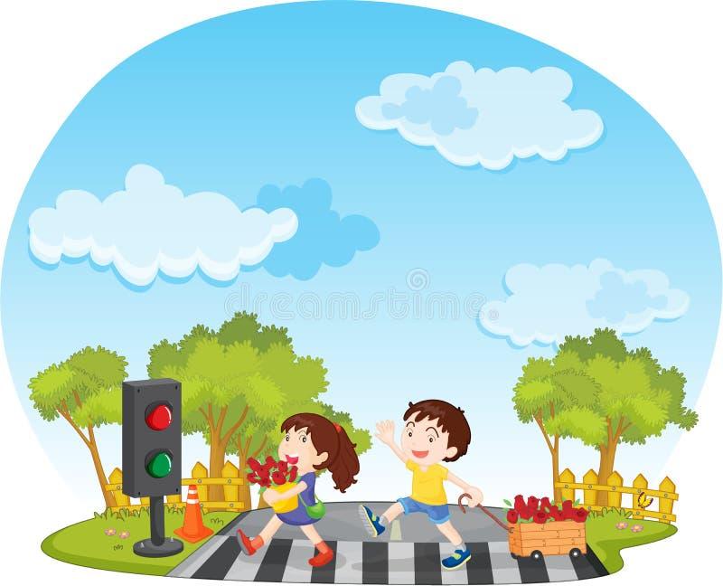 ungar stock illustrationer