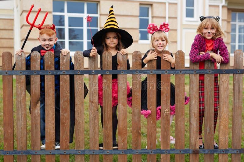Ungar av allhelgonaaftonen royaltyfri foto