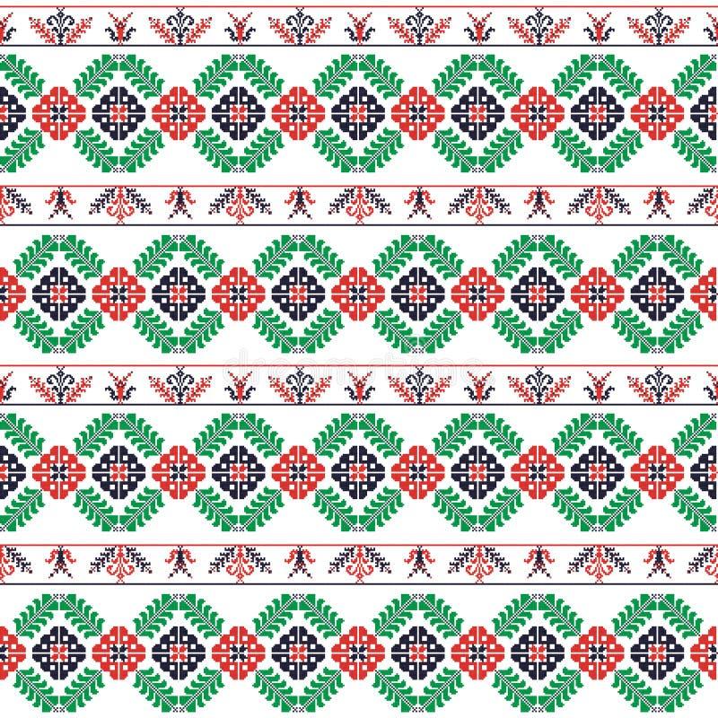 Ungarisches Muster lizenzfreie abbildung