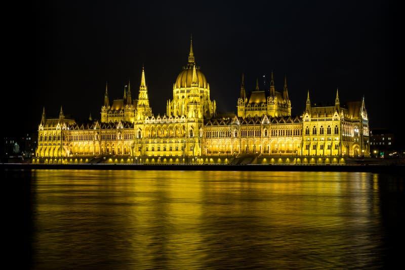 Ungarisches Parlamentsgebäude, Budapest lizenzfreie stockfotografie