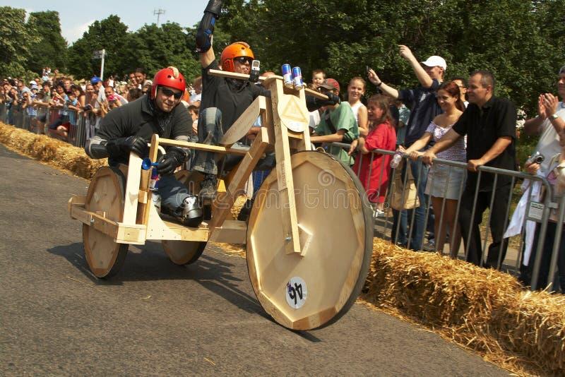 Ungarisches Seifenkastenrennen lizenzfreies stockfoto