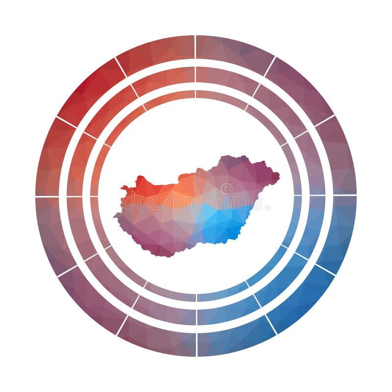 Ungarn-Ausweis lizenzfreie abbildung
