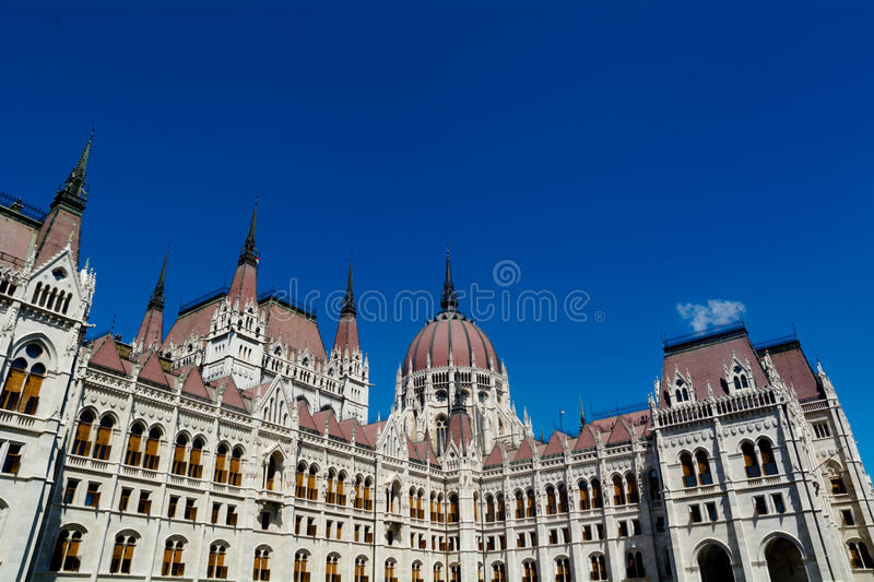 Ungarn-Parlament in Budapest stockfoto