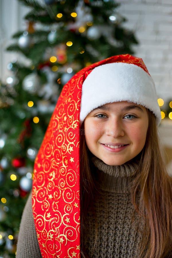 Download Unge som firar jul fotografering för bildbyråer. Bild av roligt - 106837539