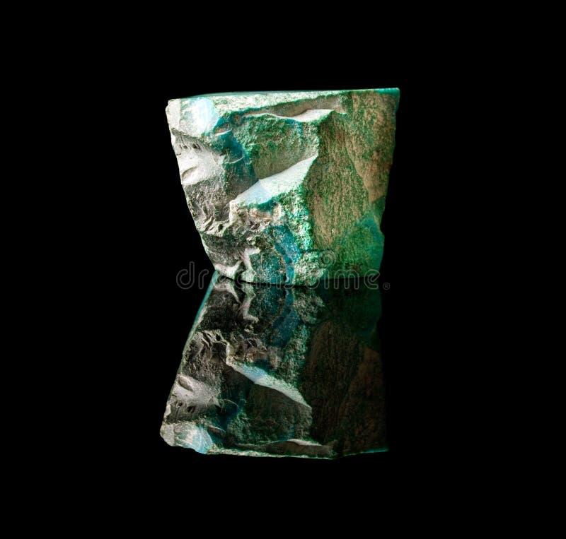 ungefärlig sten för malachite royaltyfria foton