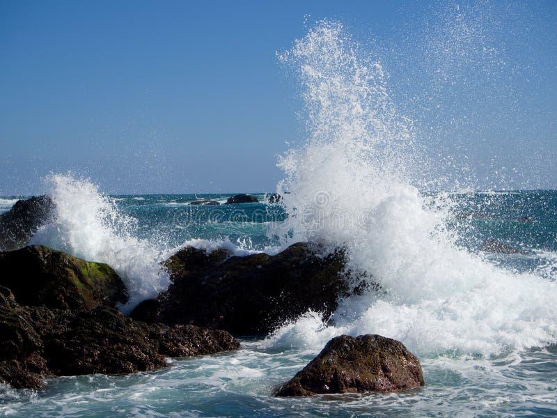 ungefärliga waves fotografering för bildbyråer