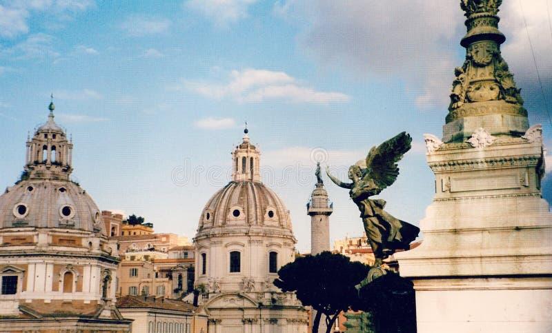 Ungeheure Ansicht von Rom, Italien stockfoto