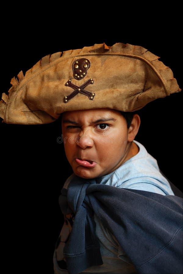 ungen piratkopierar arkivfoto