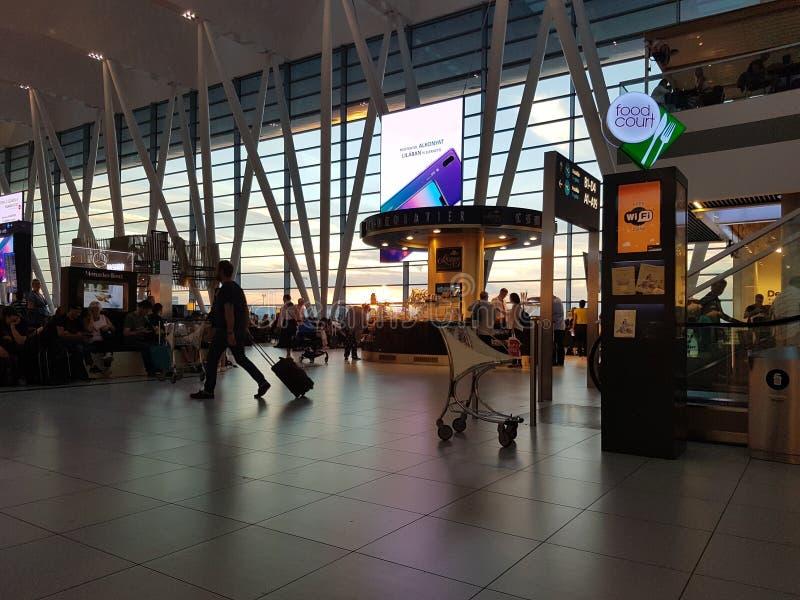 Ungern Budapest flygplats september 2018 royaltyfria bilder