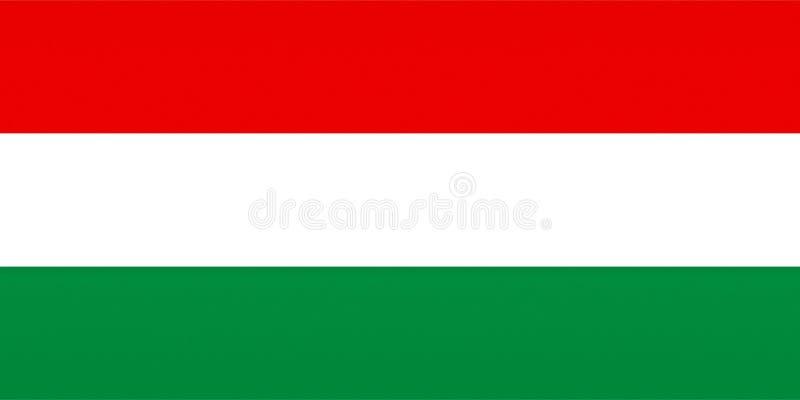 Ungernflagga, texturised vektor illustrationer