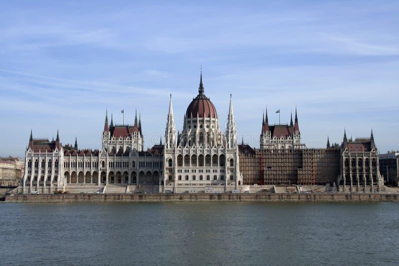 ungersk parlament arkivbild