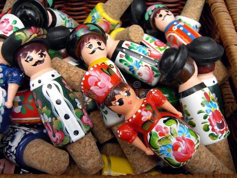 ungerska dockor royaltyfri foto