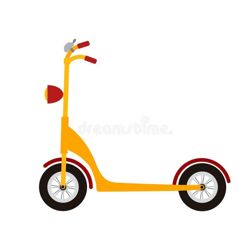 Ungesparkcykel royaltyfri illustrationer