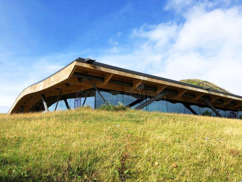 Ungewöhnliche Architektur Macallan lizenzfreies stockfoto