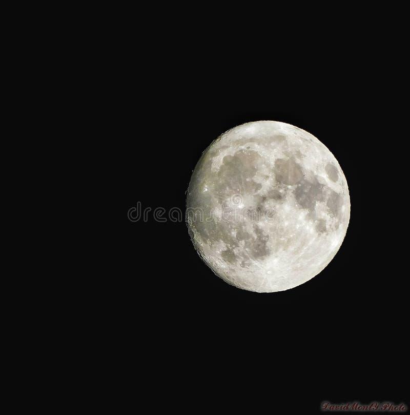 Unglaublicher Mond von Oktober lizenzfreie stockfotos