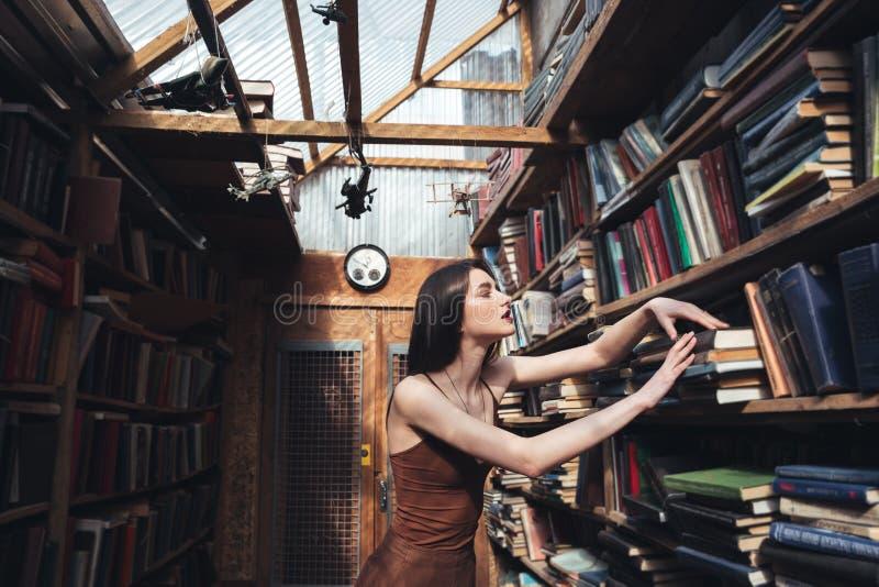 Ungt kvinnaanseende i arkiv arkivbilder