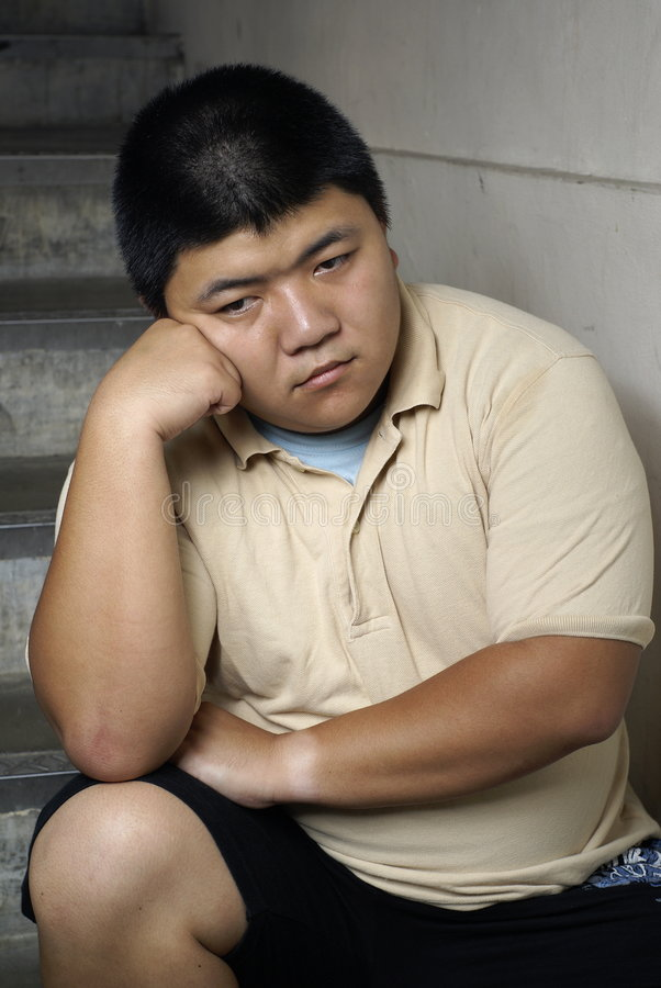 Download Unhappy asian man stock photo. Image of asian, miserable - 8767706
