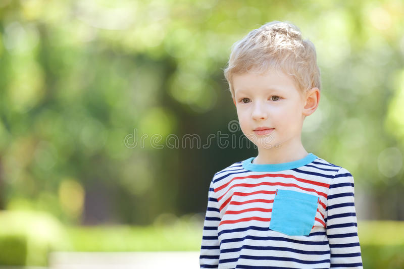Unhappy Boy Royalty Free Stock Photos