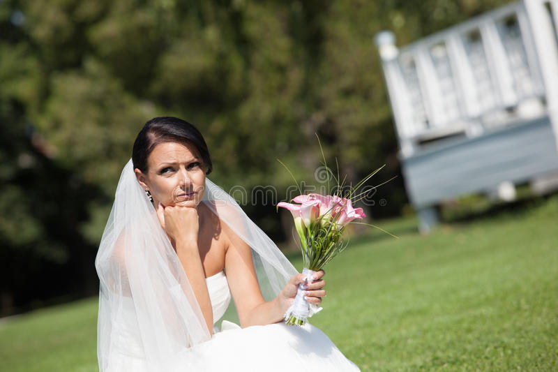 Download Unhappy Bride Royalty Free Stock Images - Image: 33420839