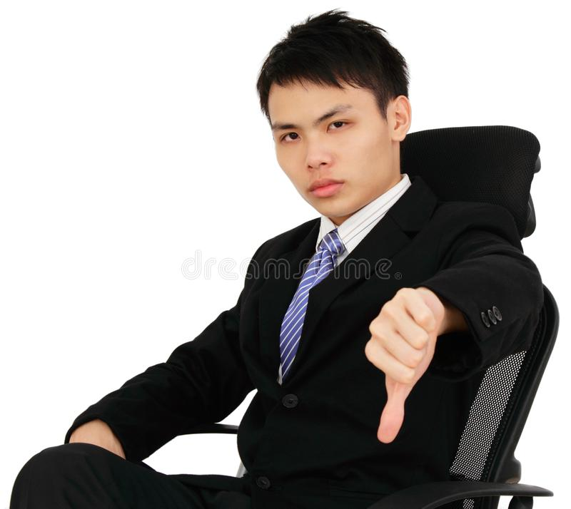 Download Unhappy Businessman stock image. Image of executive, isolated - 19240181