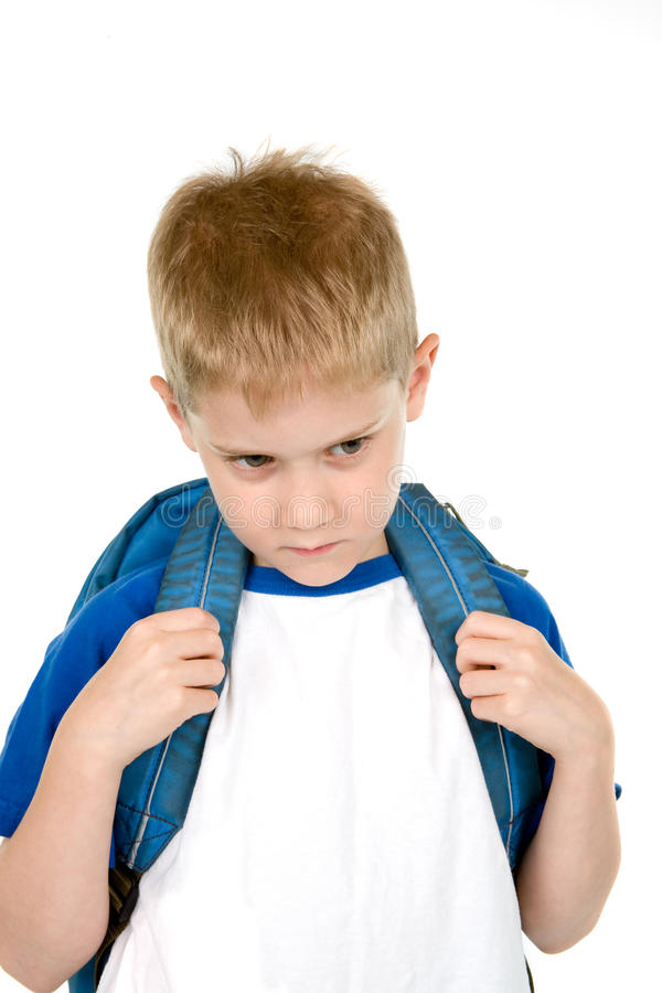 Unhappy Child royalty free stock images
