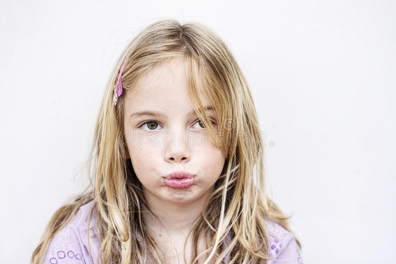 Download Unhappy child stock image. Image of childhood, grumpy - 18235983