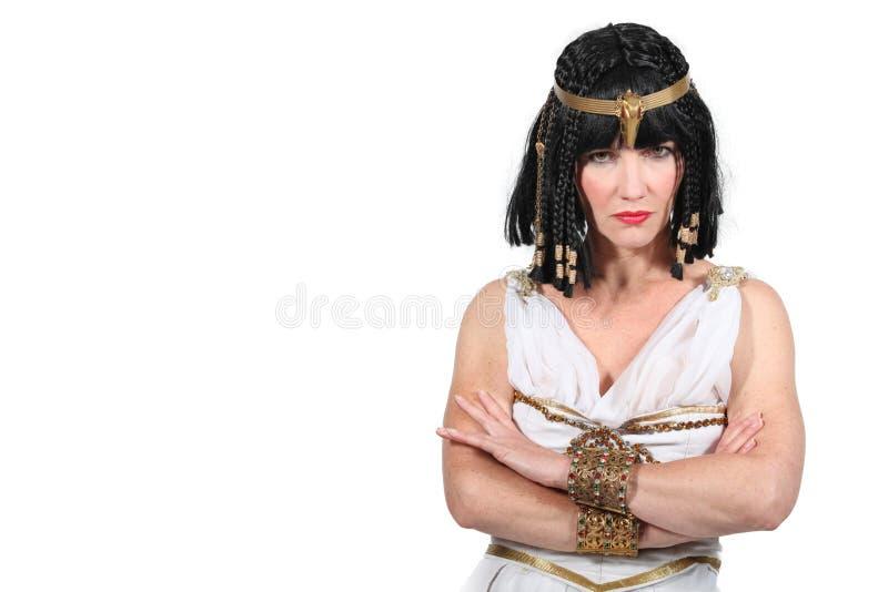 Unhappy Cleopatra Stock Image