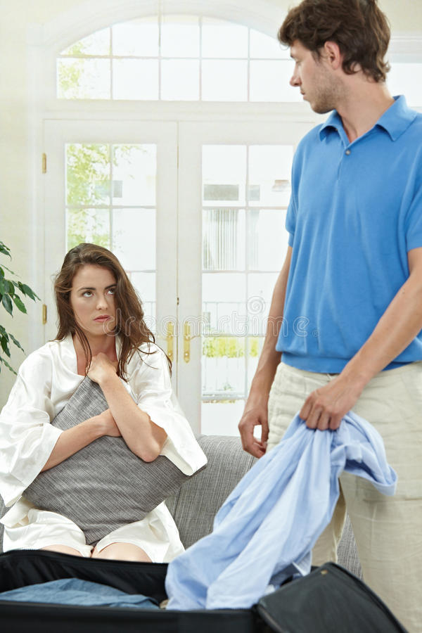 Download Unhappy couple stock image. Image of house, color, difficulties - 11085755