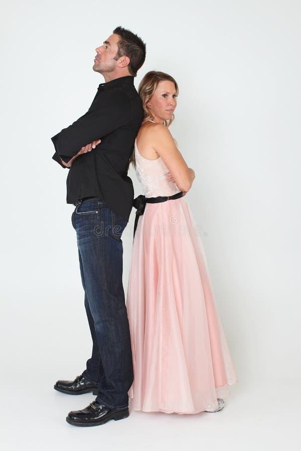Unhappy Couple Royalty Free Stock Photo