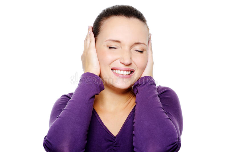 Download Unhappy Female With Negative Expression On Face Stock Image - Image: 11540601