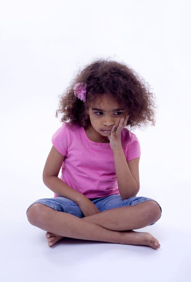 Unhappy Girl Royalty Free Stock Photos