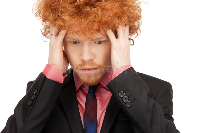Download Unhappy man stock photo. Image of emotion, insult, head - 39973722