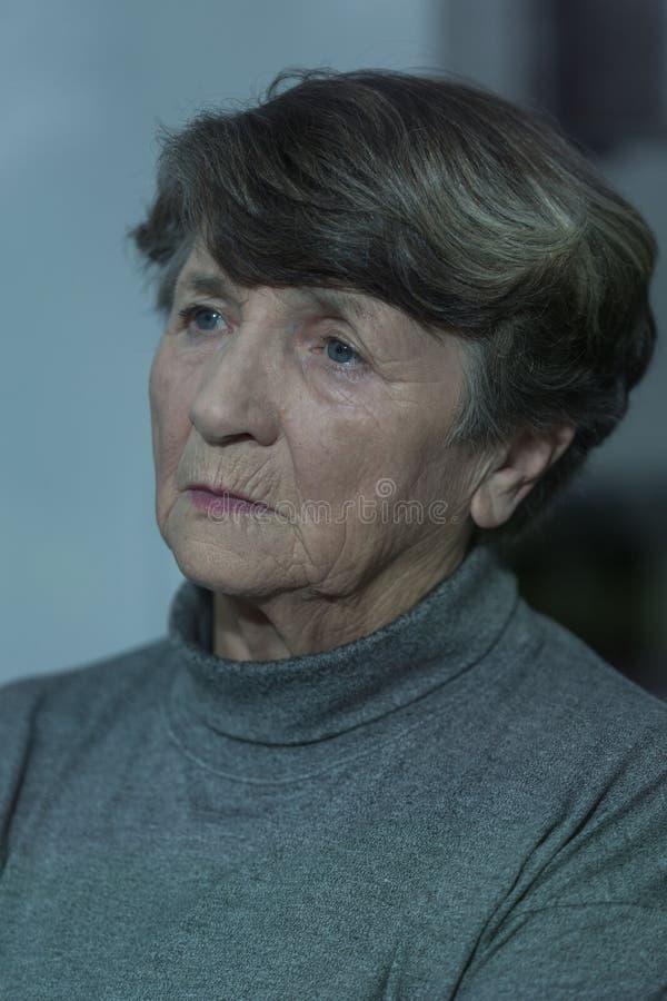 Unhappy woman royalty free stock photos