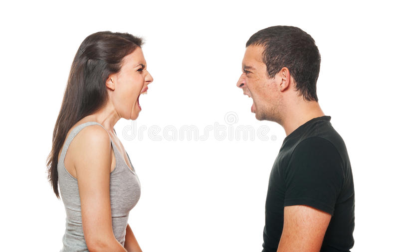 Download Unhappy Young Couple Having An Argument Stock Photo - Image: 25218882