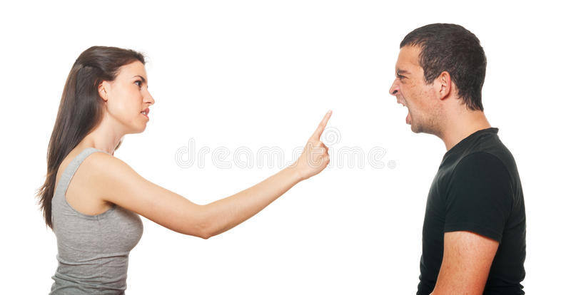 Download Unhappy Young Couple Having An Argument Stock Photo - Image: 25218884