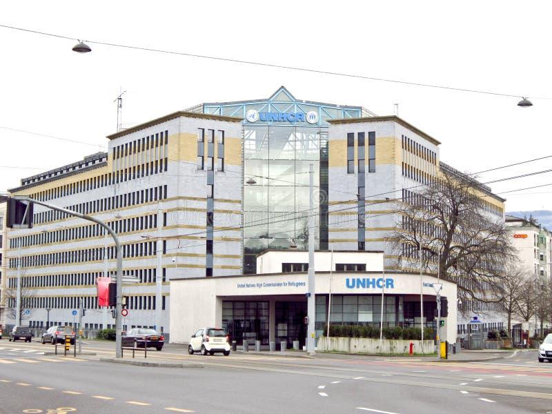 UNHCR kwatery główne, Genewa, Szwajcaria obraz royalty free