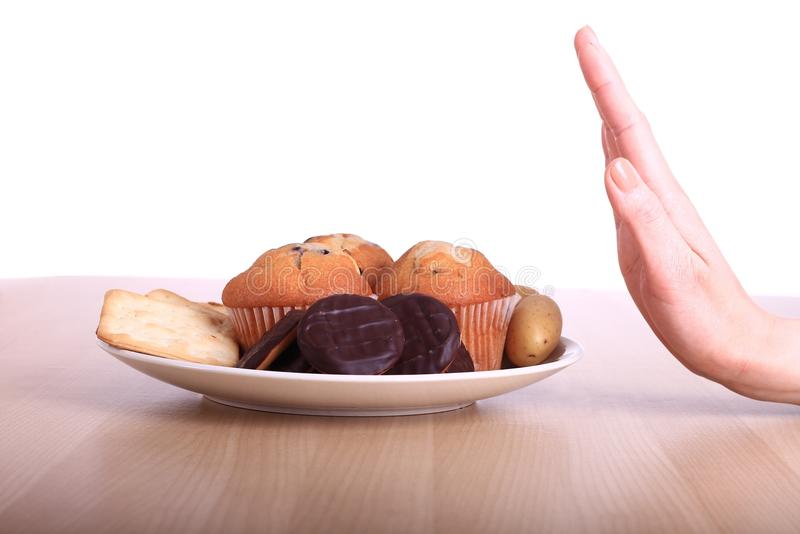 Unhealthy food royalty free stock photography