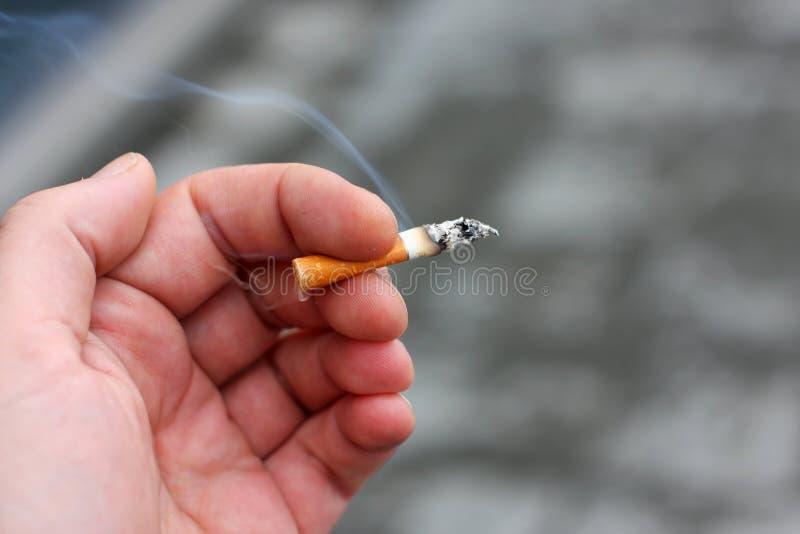 Unhealthy Habit Stock Photo