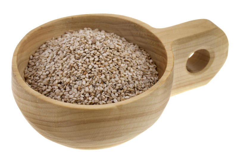 Unhulled Sesame Seeds Stock Images