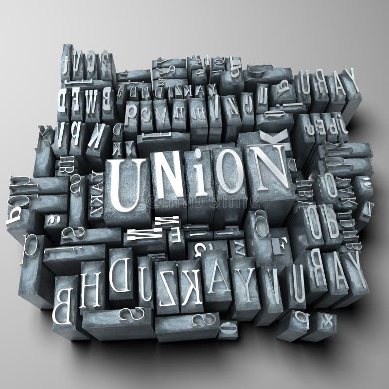 União ilustração do vetor
