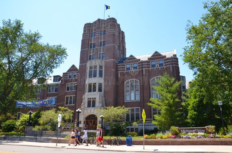 União de Michigan da Universidade do Michigan imagens de stock royalty free
