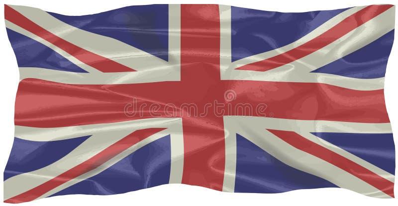 União de seda Jack Flag ilustração do vetor
