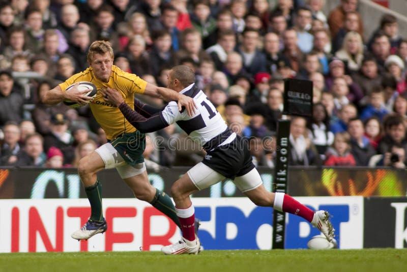 União do rugby fotografia de stock