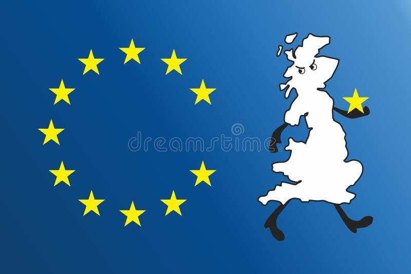 União Europeia ilustração royalty free