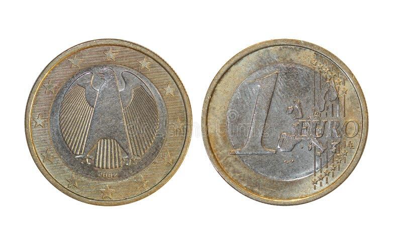 União Europeia 1 euro imagens de stock royalty free