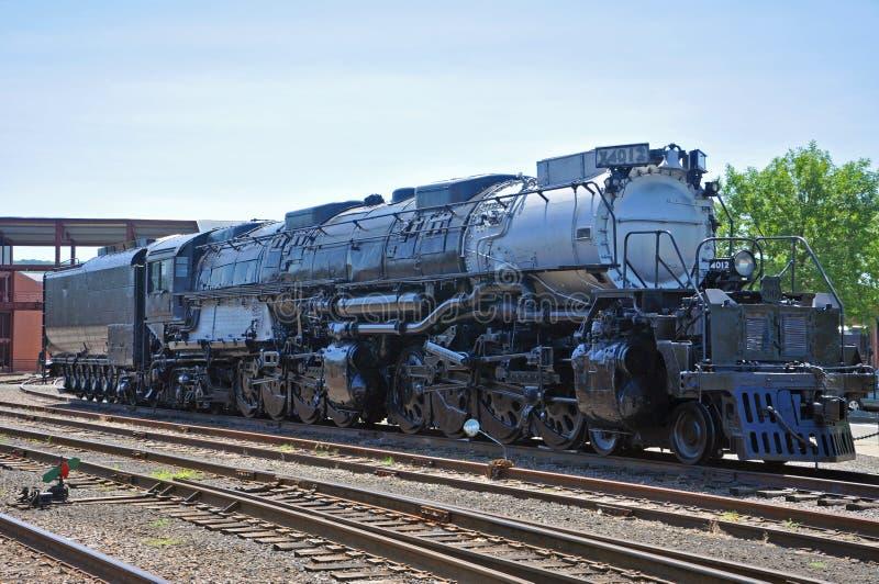 União o Pacífico 4012 da locomotiva de vapor, Scranton, PA, EUA foto de stock