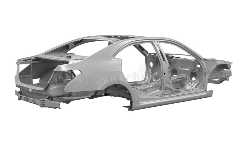 Unibody Car Chassis royalty free stock photo